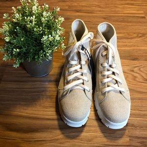 NWT Zara Platform Sneakers 🌼